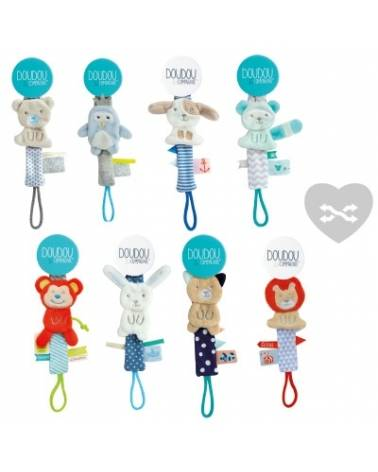 Pack attaches sucette Doudou & compagnie