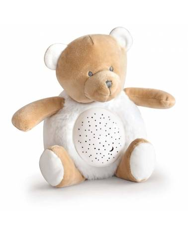Veilleuse Musicale Ours Beige Doudou & compagnie