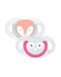 SUCETTE NATURAL PHYSIOLOGIQUE SILICONE 6-18M Bebe confort