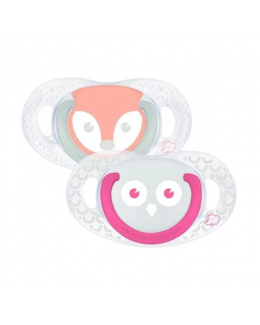 SUCETTE NATURAL PHYSIOLOGIQUE SILICONE 18-36M Bebe confort