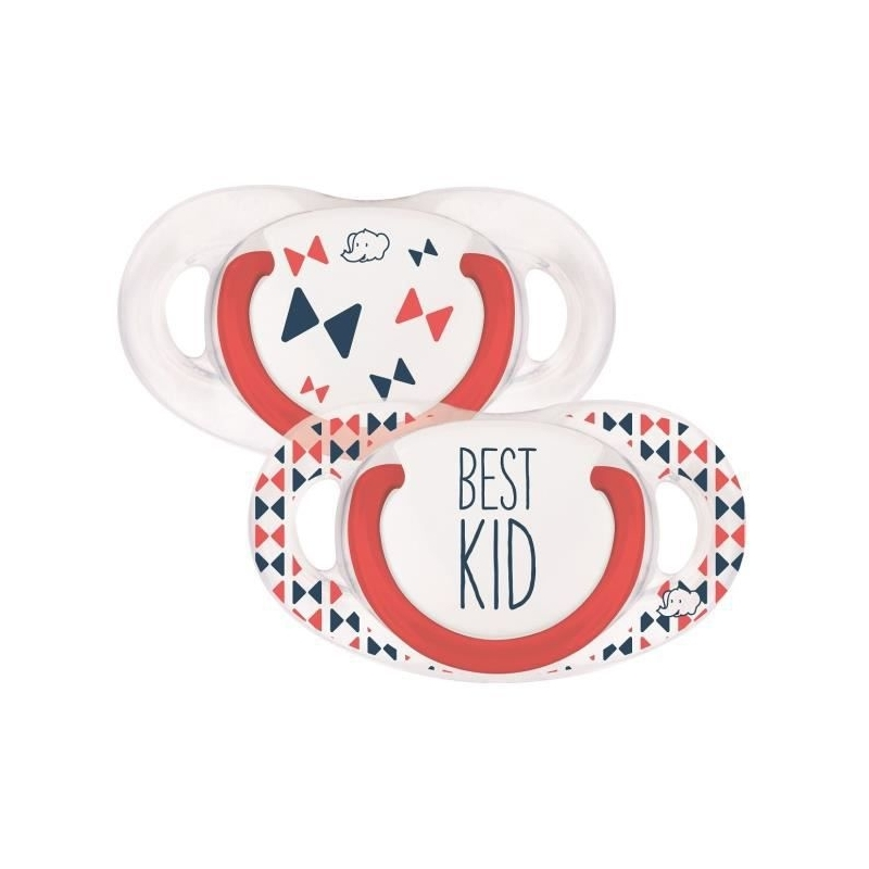 SUCETTE NATURAL PHYSIOLOGIQUE SILICONE BEST KID 6-18M Bebe confort