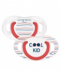 SUCETTE NATURAL PHYSIOLOGIQUE SILICONE COOL KID 18-36M Bebe confort