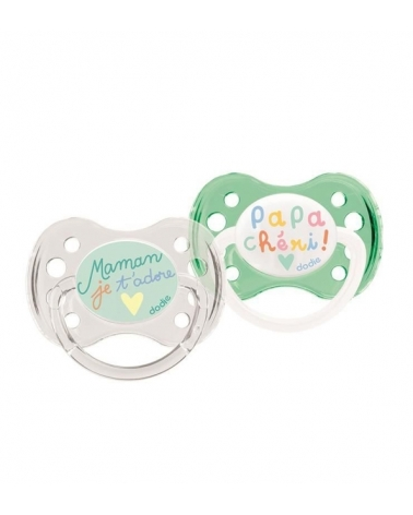 SUCETTE A31 0-6M DUO MAMAN PAPA DODIE
