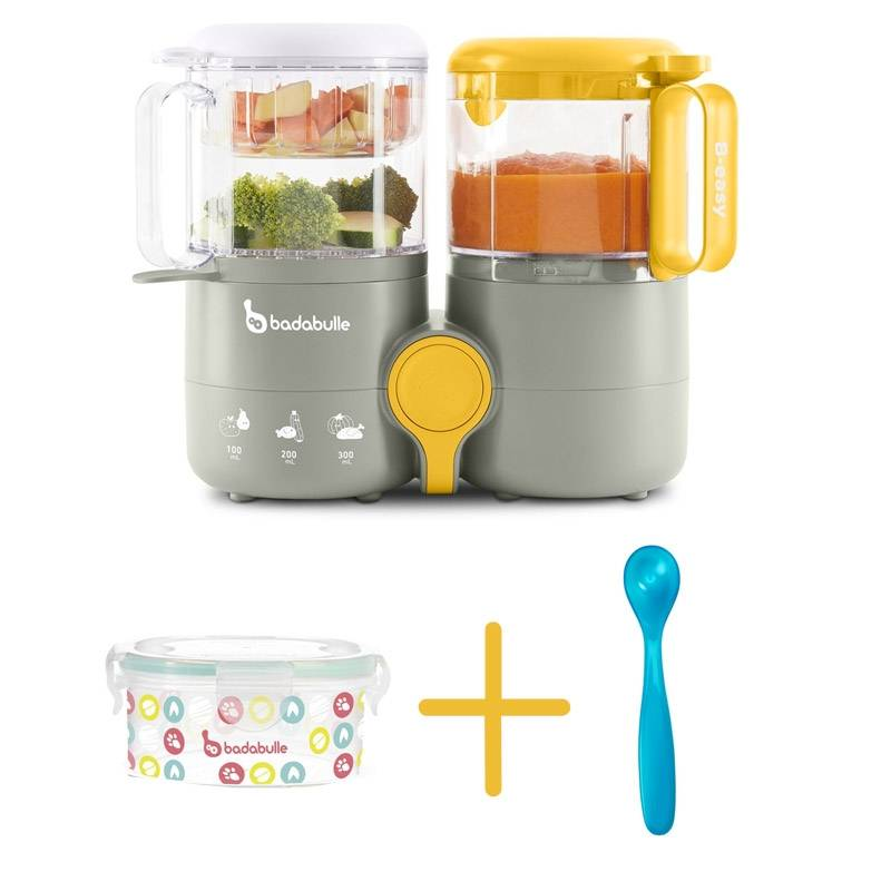 Robot culinaire B.Easy + 1 contenant 300ml + 1 cuillère Badabulle