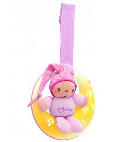Veilleuse Musicale Petite Lune First Dreams Rose CHICCO
