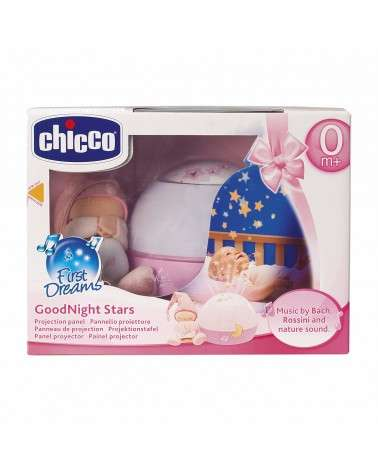 Lampe Veilleuse CHICCO Magic Projection First Dreams Rose