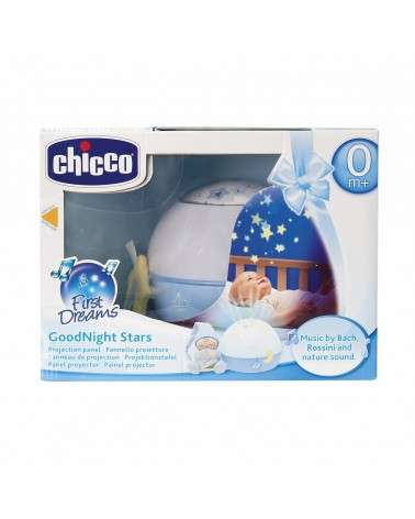 LAMPE CHICCO MAGIC'PROJECTION BLEU
