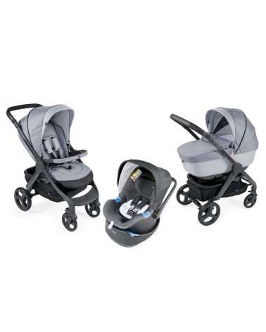 Poussette Trio STYLEGO UP Crossover Light Grey CHICCO