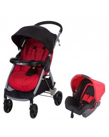 Poussette Duo STEP&GO TRAVEL SYSTEM RIBBONRED Safety 1st