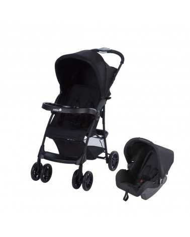 Poussette Duo TALY (TRAVEL SYSTEM) FULL BLACK Safety 1st