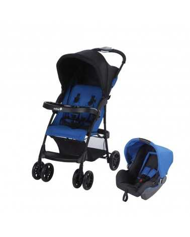 Poussette Duo TALY (TRAVEL SYSTEM) Baleine Blue Safety 1st