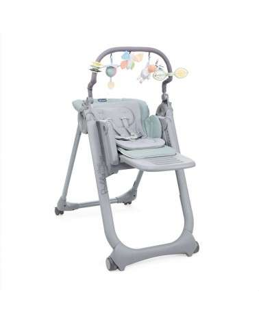 Chaise Haute Polly Magic Relax CHICCO Antiguan Sky
