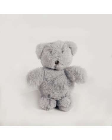 Ours Peluche Porte cles Ines Gris